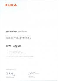 Robot Programming and Commissioning